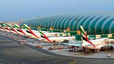 صورة مطار دبي يتوقع زيادة حركة المسافرين مع تخفيف الإمارات قيود السفر