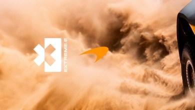 صورة مكلارين تستعد للمشاركة في سباق صحراوي للسيارات الكهربائية