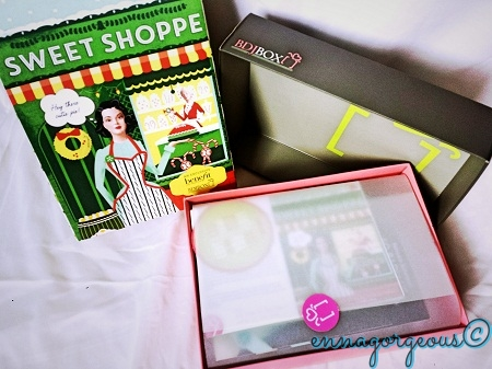 BDJ Box: Unboxing November 2014 – Sweet Shoppe (Benefit Exclusive) (1/6)