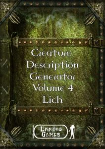CDG 4 - Lich cover thumb