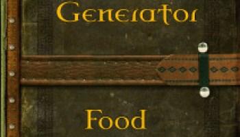 Random List - Food Dishes - Ennead Games