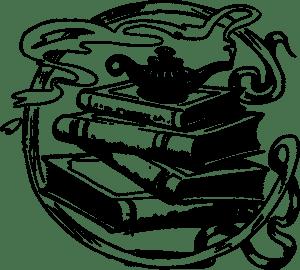 Book Books Circle Icons Genie Jinn  - OpenClipart-Vectors / Pixabay