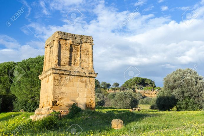 Ο τάφος του Θύρωνα. Πηγή: 123RF