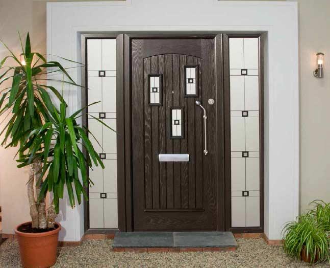 Shape and form Door
