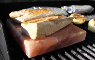 Grilling with a Himalayan Salt Block