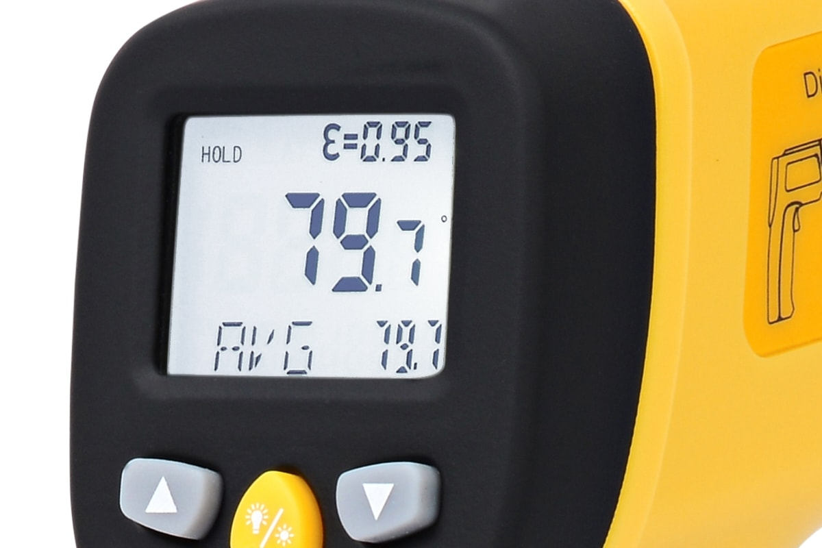 eT650D LCD Display with Emissivity