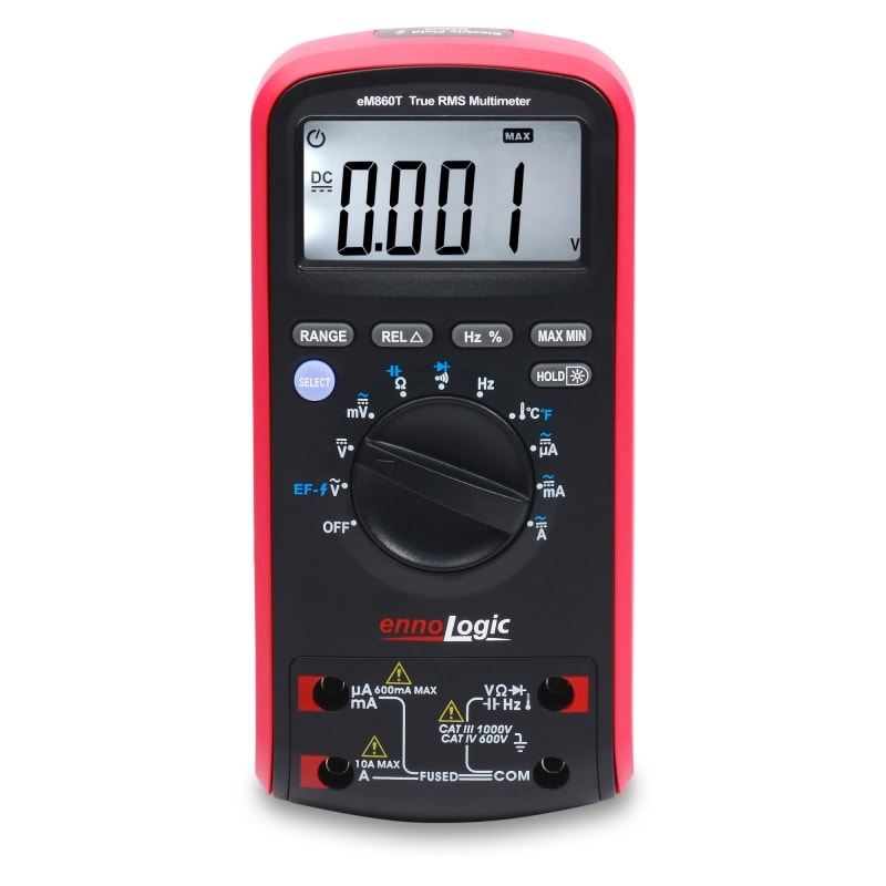 eM860T TRMS Digital Multimeter front