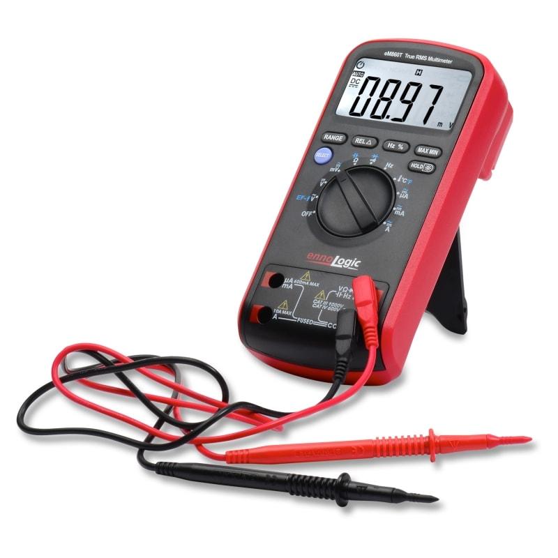 eM860T True RMS Digital Multimeter with probes