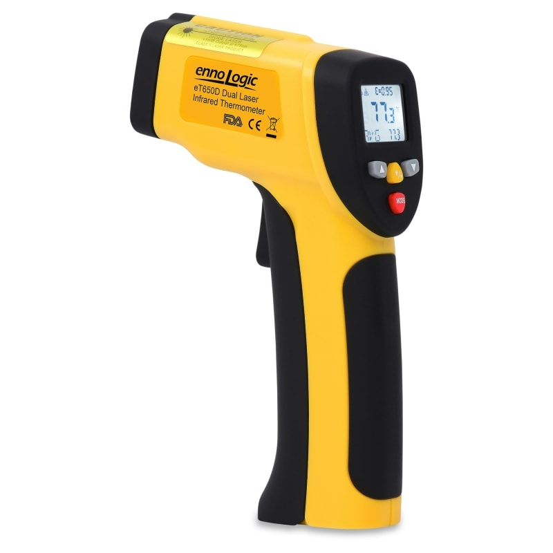 eT650D infrared thermometer
