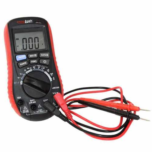 eM530S Digital Multimeter with Battery Tester and probes