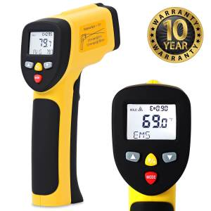 ennoLogic IR Thermometer is a Professional Tool for the HVAC Toolbox.