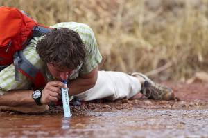 Sip from any source of water with LifeStraw