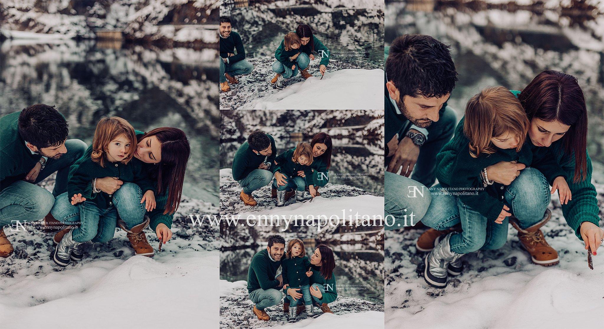 servizio fotografico famiglia esterna spontanea
