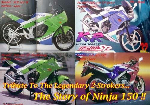 Ninja 150 Generations