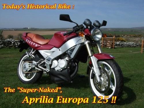 Aprilia Europa 125 Main