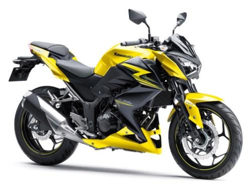 Kawasaki Z250 2015 Kuning 2