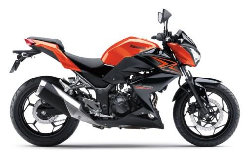 Kawasaki Z250 2015 Oranye 3