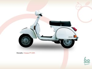 Sejarah Vespa - Vespa P125X