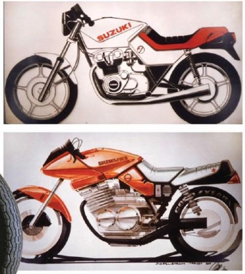 Suzuki GSX-S Katana First Drawing Concept