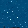 """これぞ職人…「銀河鉄道の夜」の""""切り文字""""が凄すぎると話題に"""
