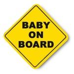 「赤ちゃんが乗ってます」はよく見かけるけど、これはブラックジョーク過ぎるwww