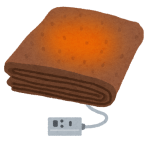 PCをクールダウンさせようと電源切っといたのに、毛布妖怪によって温められていた😸