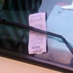 駐車違反切符切られた…と思ったら、そこにはまさかのメッセージが(中国)