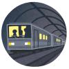 都内の某地下鉄駅が「現代とは思えない」「ゾンビ沸いてきそう」と話題に😨