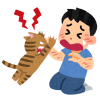 二足歩行で詰め寄る「ハンター」にしか見えない…猫の奇跡的ショットが話題にw