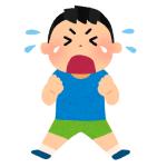 2歳の息子が「自分の唇」を引っぱりながらギャン泣きしている理由が実に2歳児w