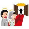 """「なんという幸運!」結婚写真の撮影中に偶然通りかかった""""あのハリウッドスター""""に祝福される新婚さん"""