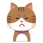 「カーテンレールから降りたい猫」と「動きたくない猫」の攻防😹