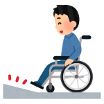 「バリアフリーとは…」ある施設の車椅子用スロープが地獄すぎるwww