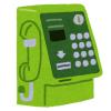「匠の技術だ…」タカラのガチャガチャ『ミニチュア公衆電話』の再現度が高すぎる!