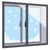 """北海道は家だけでなく車も""""二重窓""""になっているらしい…😳"""