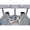 【恐怖】客が激減した某航空会社の旅客機に乗ったら…今まで聞いたことのないアナウンスが流れた😨