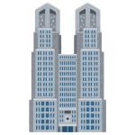 いったい何故…都庁のライトアップが「ゲーミングPC」のような状態にwww
