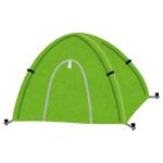 【動画】部屋の中でテントを広げてみたら…子供よりはしゃいでる奴がいた😹