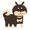 【怪奇】木彫りの柴犬を2体並べておいたら…いつの間にか3体に増殖していた😳