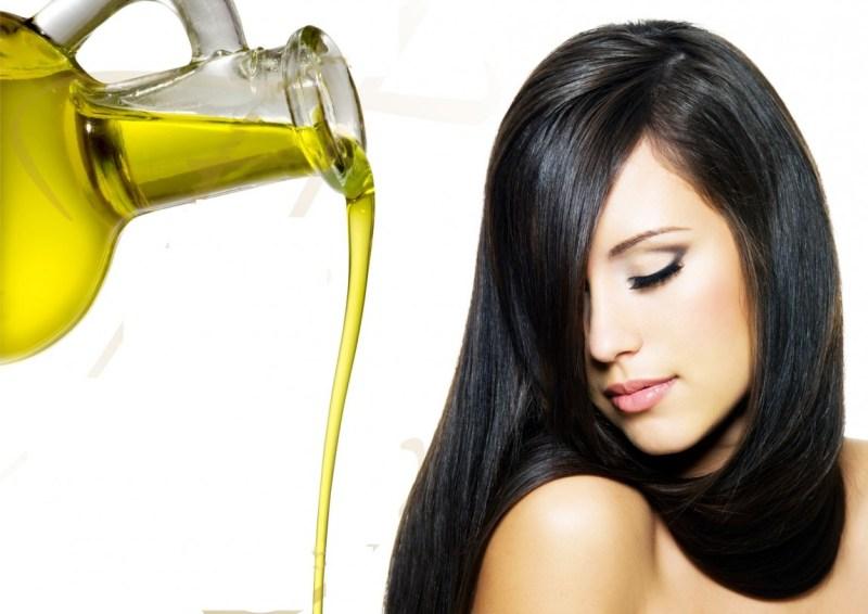 mengatasi rambut kering dengan minyak zaitun