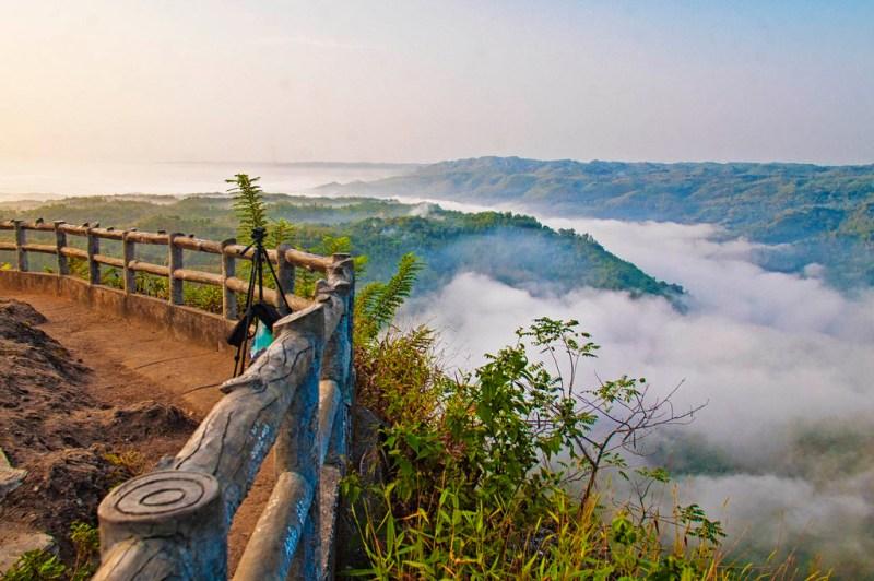 bukit mangunan, objek wisata alam terbaru di jogja