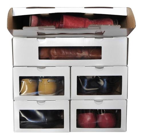 Caja Botas Organizadora (hasta Talle 40) - Pack 6 Unidades