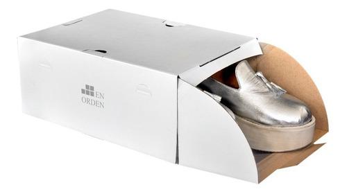 Organizador De Zapatos Enorden - Hasta Número 40 - Pack 12u