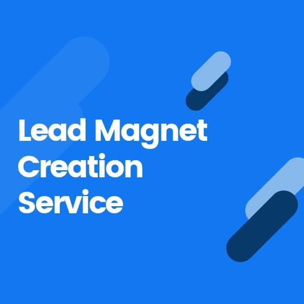 Lead Magnet Creation Service Product Image