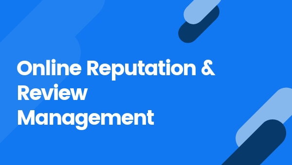 Online Reputation & Review Management