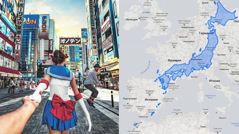 Сколько островов в Японии, размер территории на фоне Европы. Возраст согласия 13 лет, почему японки любят иностранцев и какое отношение к русским мужчинам. Мода на короткие юбки и другие интересные факты о Японии. Япония расположена на 6852 островах, ниже мы разместили проекцию Японии на фоне Европы, для лучшего понимания размеров страны восходящего солнца. Жители Японии знамениты своими консервативными нравами, при этом девушки Японии сочетают в себе стеснение носить глубокое декольте с любовь на очень короткие мини-юбки и необычные наряды.