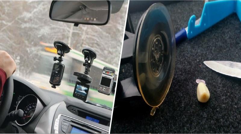 Надежно закрепить телефон на лобовом стекле автомобиля, при помощи присоски Как надежно закрепить присоску на лобовом стекле автомобиля, чтобы она не отваливалась. Лайфхаки и рекомендации опытных водителей
