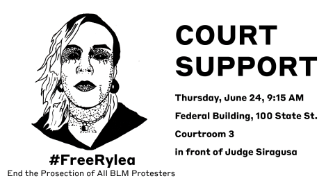 Court Support For Rylea @ Federal Building, Countroom 3