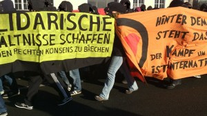 Antifa Demo in Magdeburg am 12.01.2013