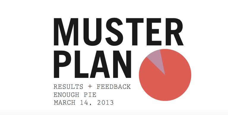 The Muster Plan Report